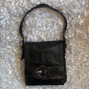 COACH Shoulder Bag-Purse-Flap & Buckle- 8A08